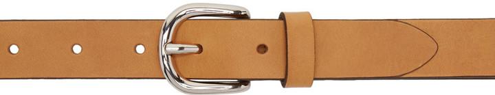 Isabel MarantIsabel Marant Tan Leather Zap Belt