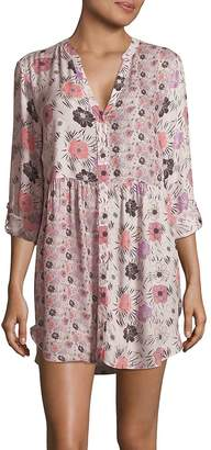 Josie Women's Floral-Printed Sleepshirt