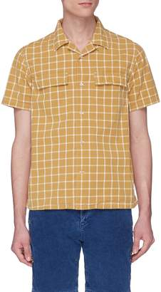 Remi Relief Windowpane check shirt