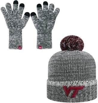 Top of the World Adult Virginia Tech Hokies Frostbite Beanie & Glove Set