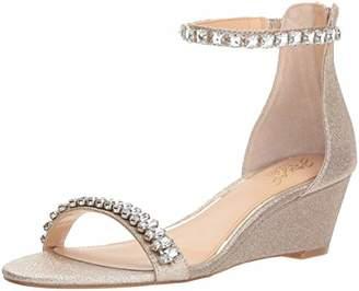 Badgley Mischka Jewel Women's Mel Wedge Sandal