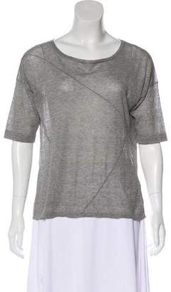 Autumn Cashmere Oversize Short Sleeve Top w/ Tags