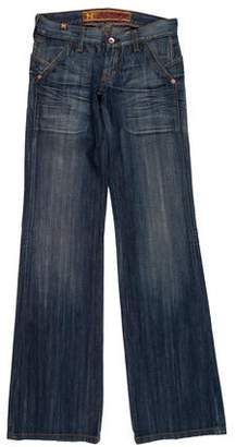 Notify Jeans Low-Waisted Flared Jeans