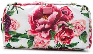 Dolce & Gabbana peonie printed make-up bag