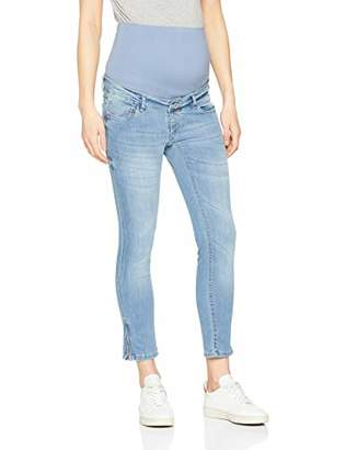 22d5c893c1541 Noppies Women's Jeans OTB 7/8 Slim Mila Washed Blue Maternity, Blau P147