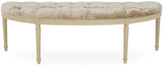 One Kings Lane Louis Curved Bench