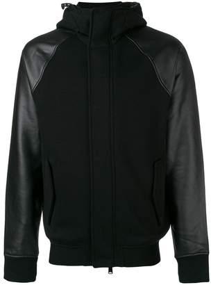 Emporio Armani hooded bomber jacket