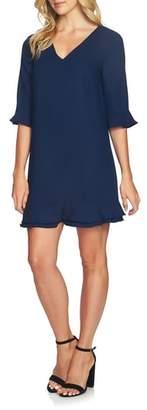 CeCe Kate Ruffle Shift Dress