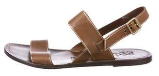 Pedro Garcia Leather Multi-Strap Sandals