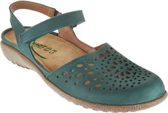 Naot Footwear Leather Closed Toe Sandals - Arataki