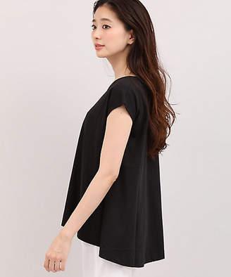 INED (イネド) - [INED] フレンチスリーブAラインTシャツ(7183190702)
