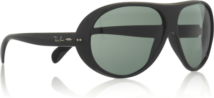 Ray-Ban Plastic rounded lens sunglasses