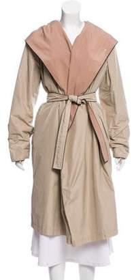 Max Mara Hooded Long Coat