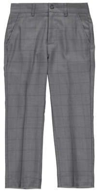 George Grey Check Suit Trousers