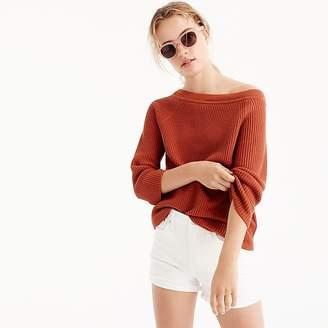 Relaxed boatneck sweater $59.50 thestylecure.com