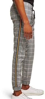 Topman Check Skinny Fit Jogger Pants