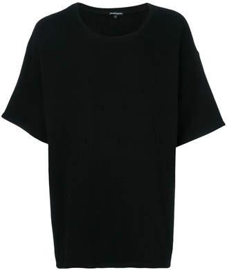 Ann Demeulemeester oversized crew-neck T-shirt