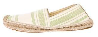 Tory Burch Patterned Round-Toe Espadrilles