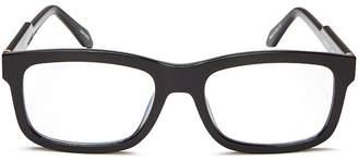 Quay Unisex Beatnik Square Blue Light Glasses, 41mm