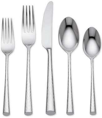 Marchesa by Lenox Imperial Caviar 18/10 Stainless Steel 20-Pc. Flatware Set, Service for 4
