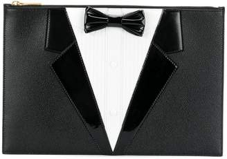 Thom Browne dinner suit clutch