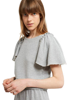 Opening Ceremony Re Editions Ruffle Sleeve Top