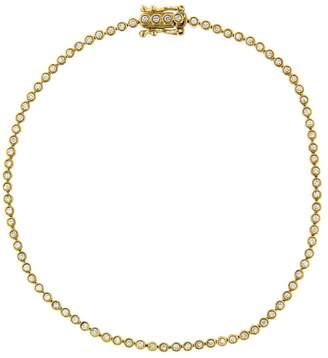 Sydney Evan Bezel Eternity Bracelet - Yellow Gold