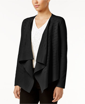 Alfani Draped Cardigan, Only at Macy's $79.50 thestylecure.com