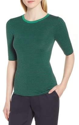 Nordstrom Signature Stripe Crewneck Sweater