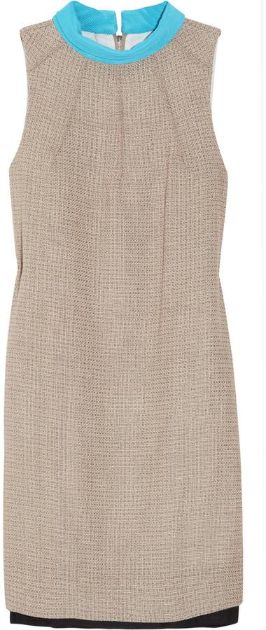 Diane von Furstenberg Arlene tweed cocoon dress