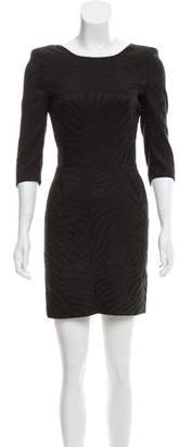 The Kooples Patterned Mini Dress