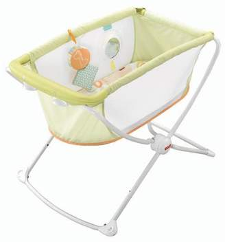 Fisher-Price Rock and Play Portable Bassinet