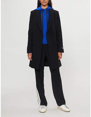 Zadig & Voltaire Marco brushed wool-blend coat