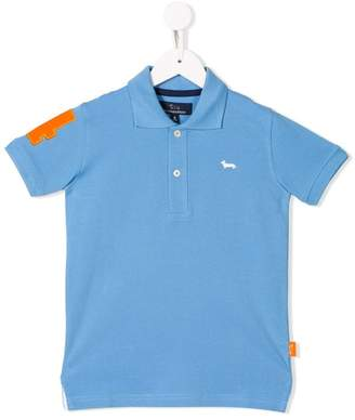 Harmont & Blaine Junior embroidered logo polo shirt