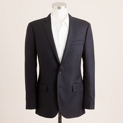 J.Crew Ludlow blazer with center vent in Italian wool