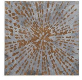Starburst Gel Coat Unframed Wall Canvas Sand