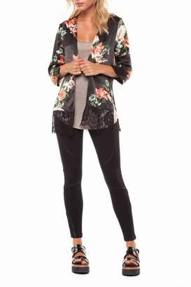 Dex Floral & Lace Kimono