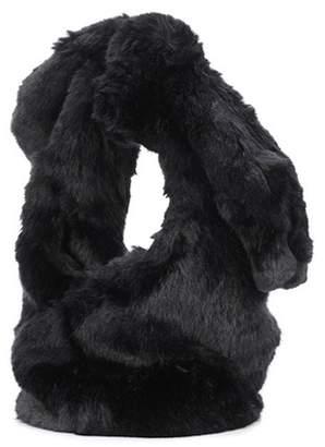 Simone Rocha Faux-fur bucket bag