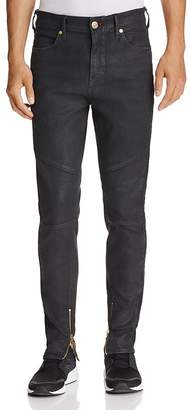 True Religion Racer Black Crater Slim Fit Jeans in Black
