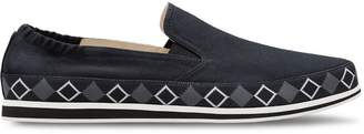 Prada Cotton slip-on shoes