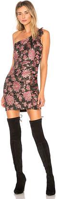 For Love & Lemons Luella Jacquard Mini Dress