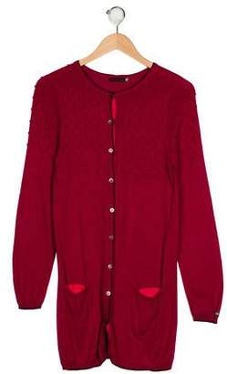Catimini Girls' Knit Cardigan