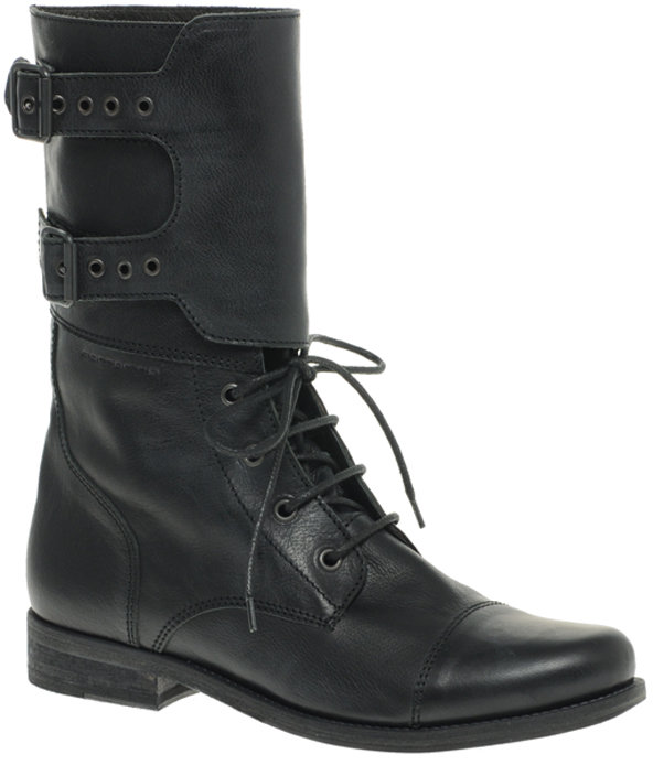 Fornarina Flat Worker Boots