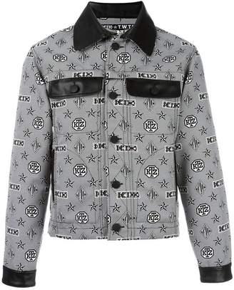 Kokon To Zai monogram print shirt jacket
