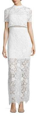 Self-Portrait Marcela Popover Lace Gown