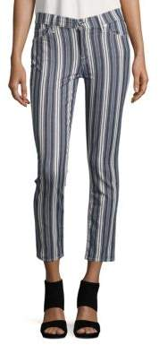 Slim Cigarette Striped Pants $229 thestylecure.com