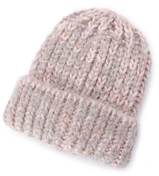HusHusH (ハッシュアッシュ) - ハッシュアッシュ ミックスカラーニット帽