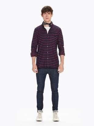 Scotch & Soda Indigo Cotton Shirt Regular fit