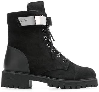 Giuseppe Zanotti Design Regan lace up boots