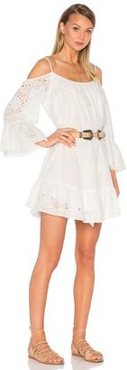 BCBGMAXAZRIA Cold Shoulder Dress $368 thestylecure.com